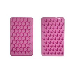 55 μικρές ροζ καρδούλες
