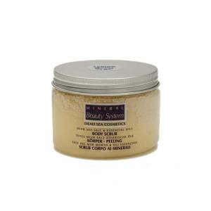 Body Scrub με άλατα Νεκράς Θάλασσας και λεμονόχορτο 300ml by Mineral Beauty System