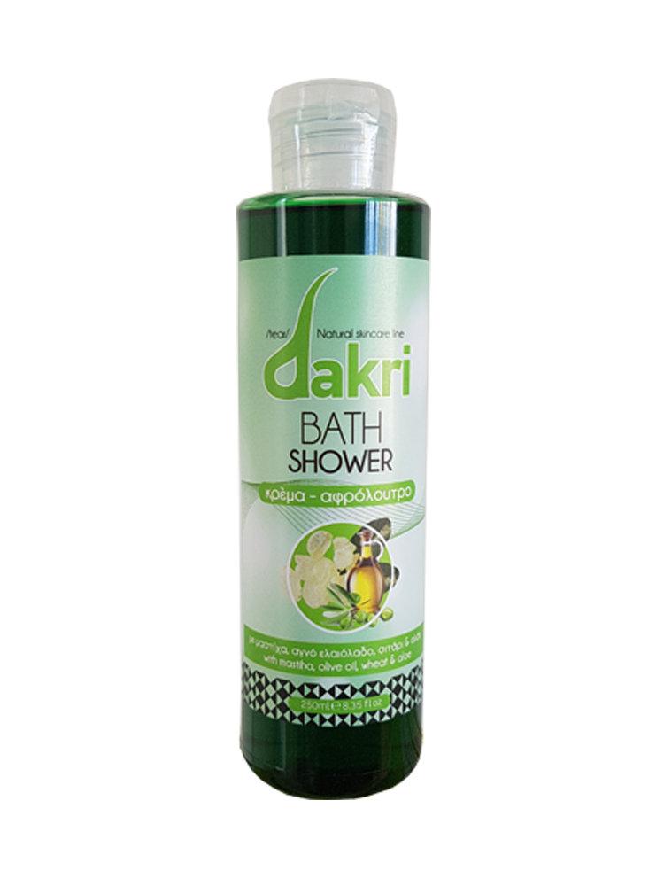 Bath Shower με μαστίχα, ελαιόλαδο, σιτάρι & αλόη by Dakri 250ml