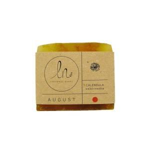 Αύγουστος - Σαπούνι με Καλέντουλα 100gr από LN Handmade Soaps