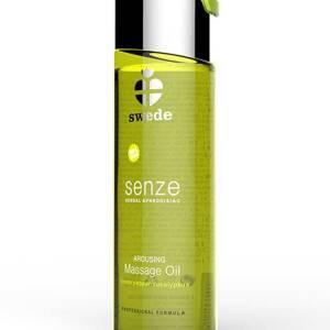 Senze Herbal Aphrodisiac Arousing Massage Oil 75ml  Lemon/Pepper/Eucalyptus by Swede