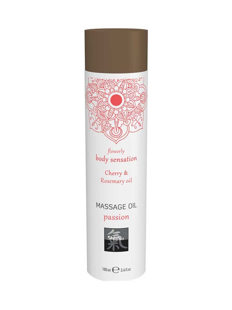 Sensual - Indian Rose & Almond Massage Oil 100ml by Shiatsu