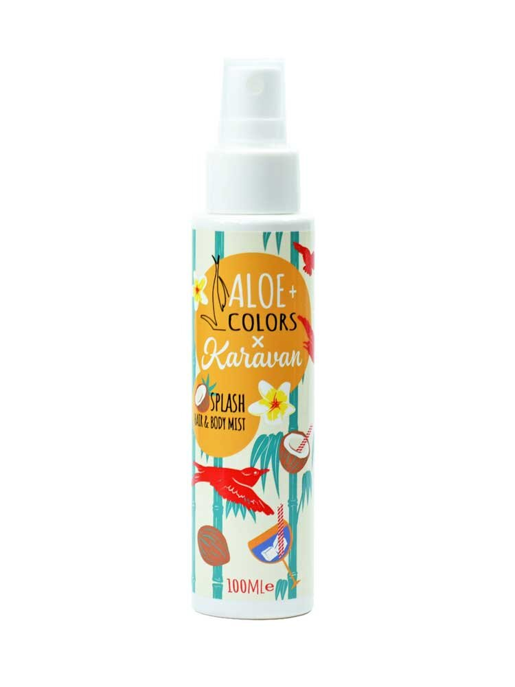 Splash Hair and Body Mist 100ml Aloe+Colors x Karavan