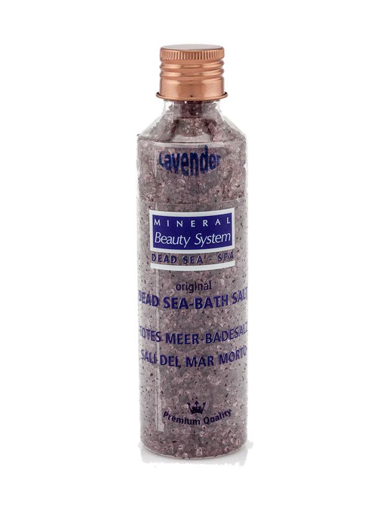Aλατα μπάνιου από τη Νεκρά Θάλασσα με Λεβάντα 150gr by Mineral Beauty System