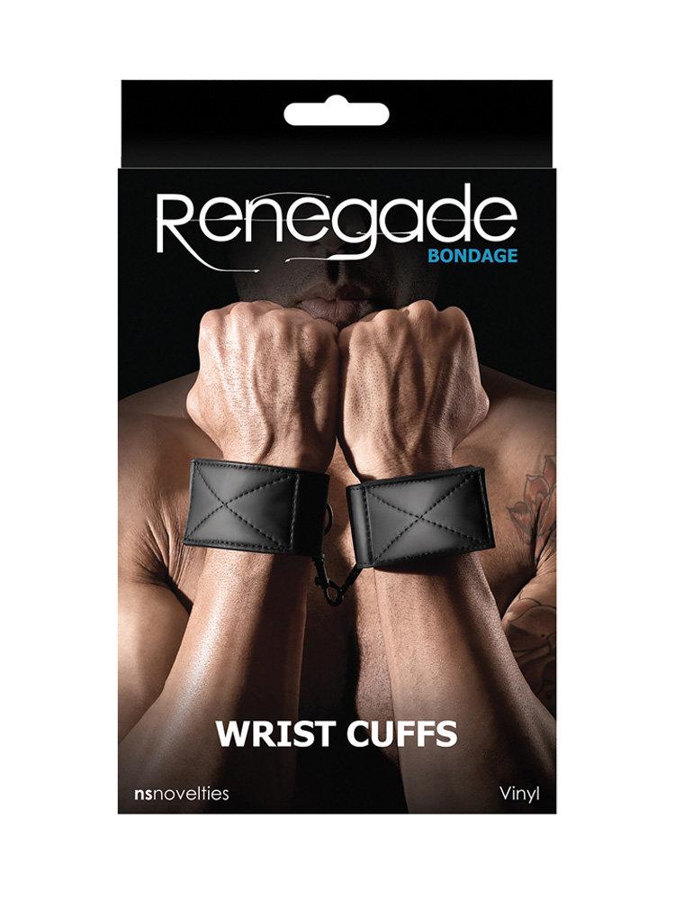 Renegade Bondage Wrist Cuffs by NS Novelties
