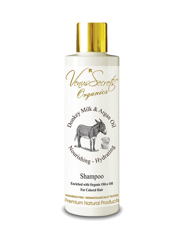 Shampoo with Donkey Milk and Argan Oil by Venus Secrets Organics