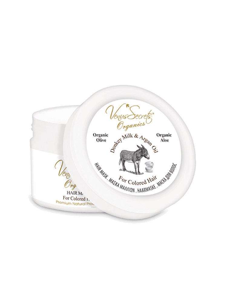 Hair Mask with Donkey Milk and Argan Oil by Venus Secrets Organics
