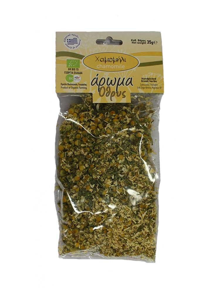 Χαμομήλι Προϊόν Βιολογικής Γεωργίας 35g Άρωμα Όθρυς