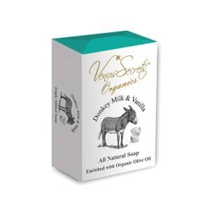 Σαπούνι με γάλα γαϊδάρας και βανίλια από Venus Secrets Organics 150gr