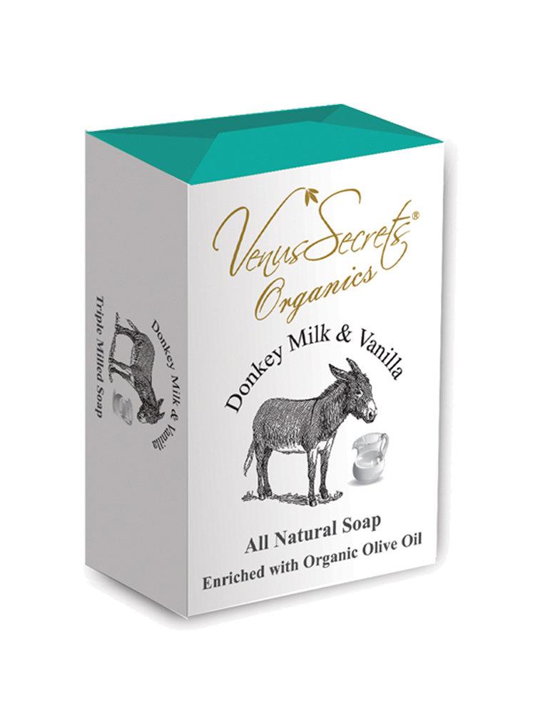 Σαπούνι με γάλα γαϊδάρας και βανίλια από Venus Secrets Organics