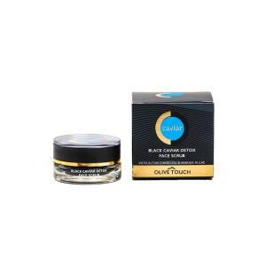 Black Caviar Detox Face Scrub Caviar Luxury Collection 15ml Olive Touch