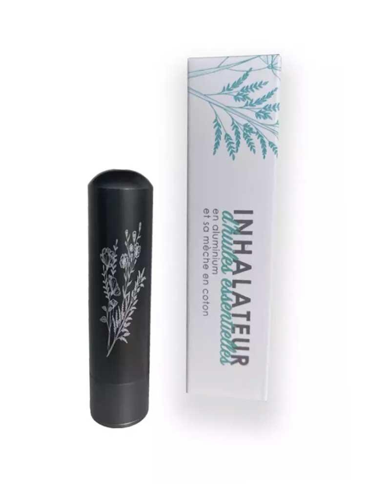 Inalia Εισπνευστήρας Αιθέριου Ελαίου Μαύρος - Essential oil Inhaler Innobiz