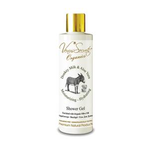 Shower Gel with Donkey Milk and Aloe Vera by Venus Secrets Organics