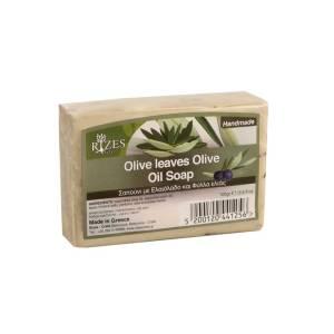 Φύλλα Ελιάς Σαπούνι Ελαιολάδου 100gr από την Rizes Crete
