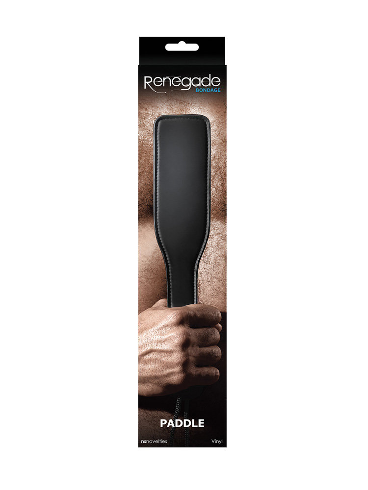 Renegade Black Paddle by NS Novelties
