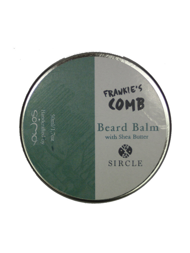 Frankie's Comb Beard Balm με βούτυρο καριτέ by SOMA
