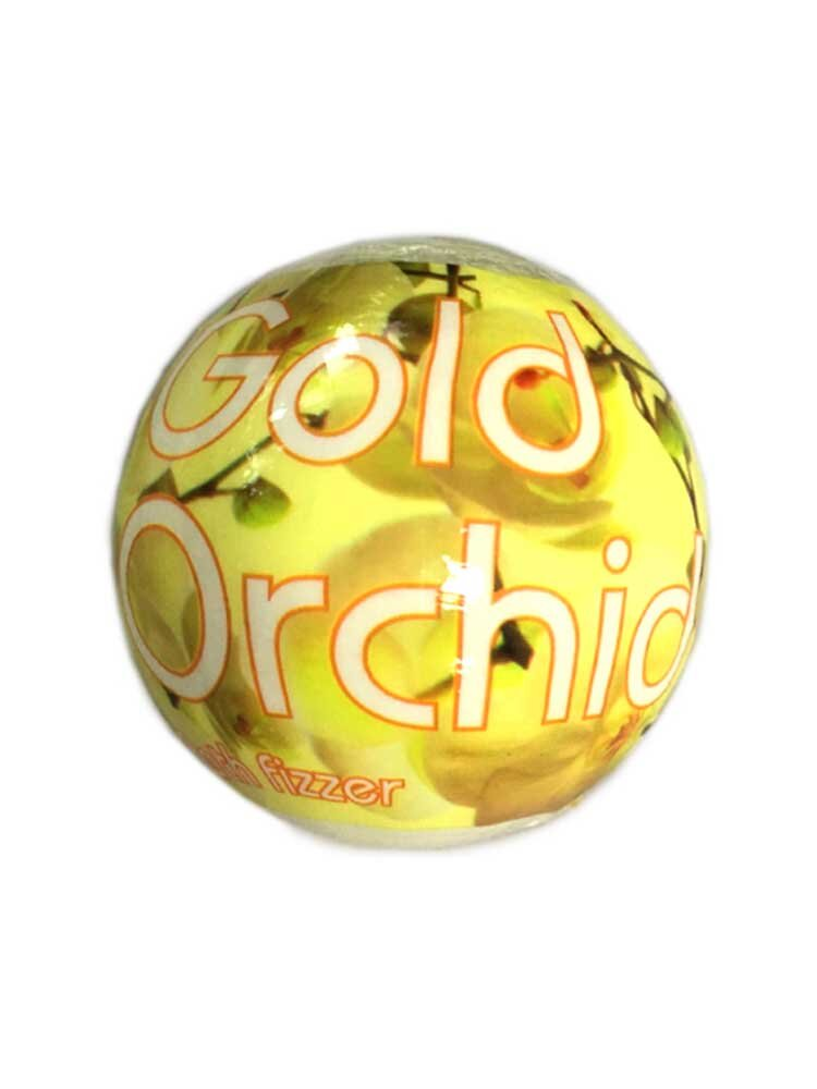 Gold Orchid Bath Fizzer Aromatherapy 180gr