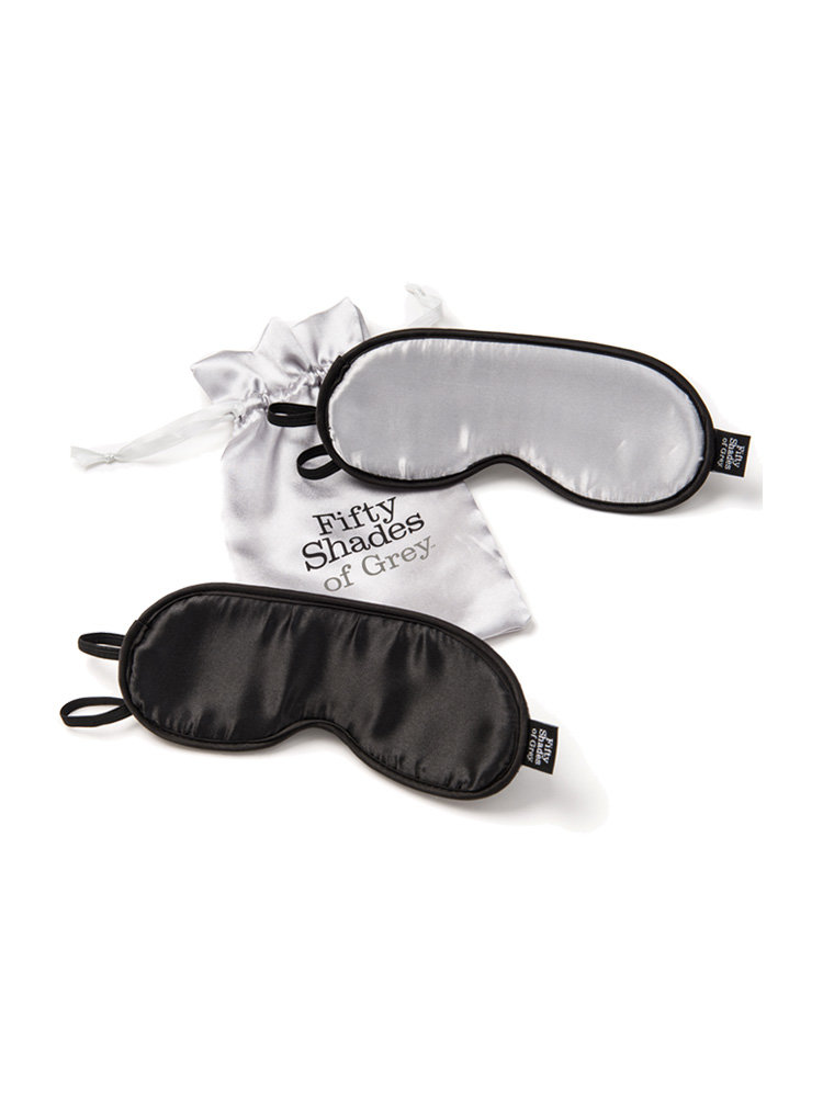 No Peeking Twin Blindfolds by Fifty Shades of Grey