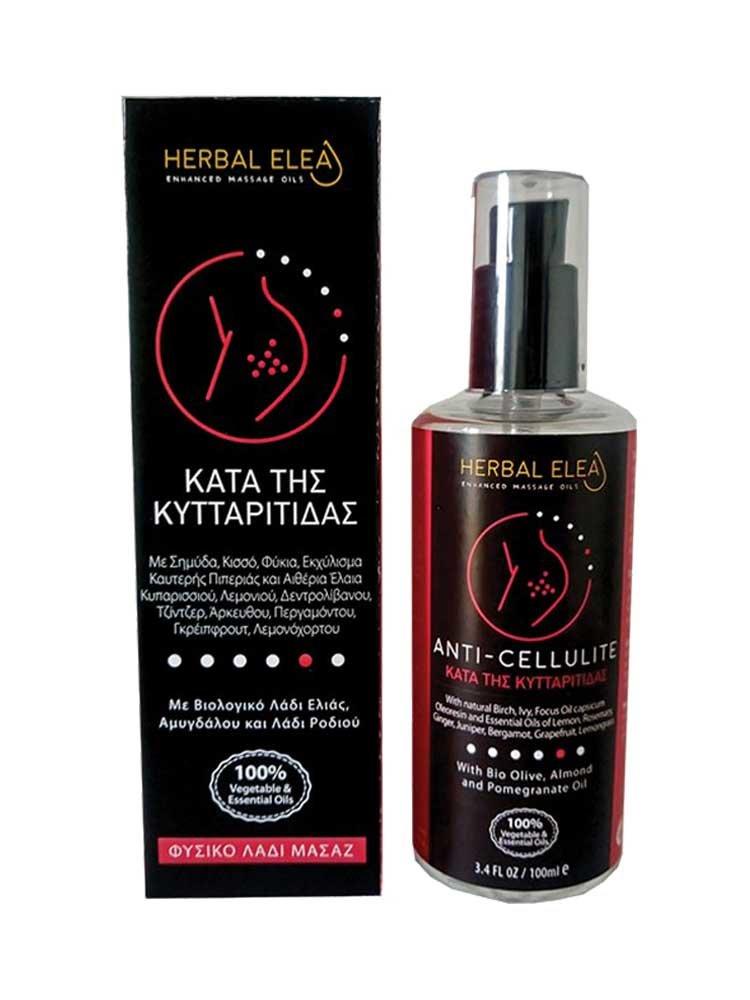 Λάδι Μασάζ για Κυτταρίτιδα 100ml Herbal Elea