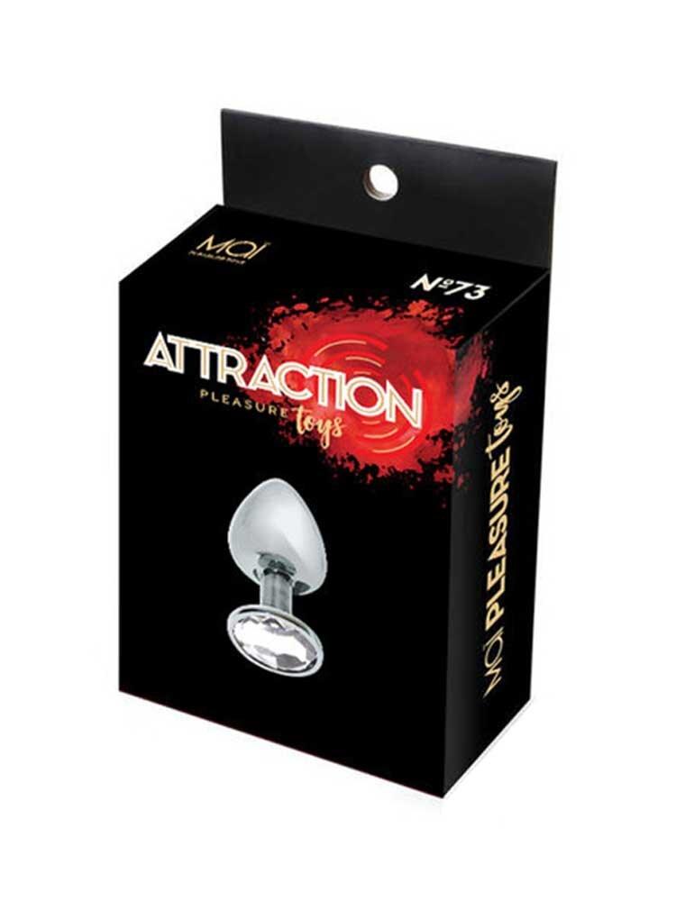 Attraction Medium Metal Butt Plug No73 by Mai Toys