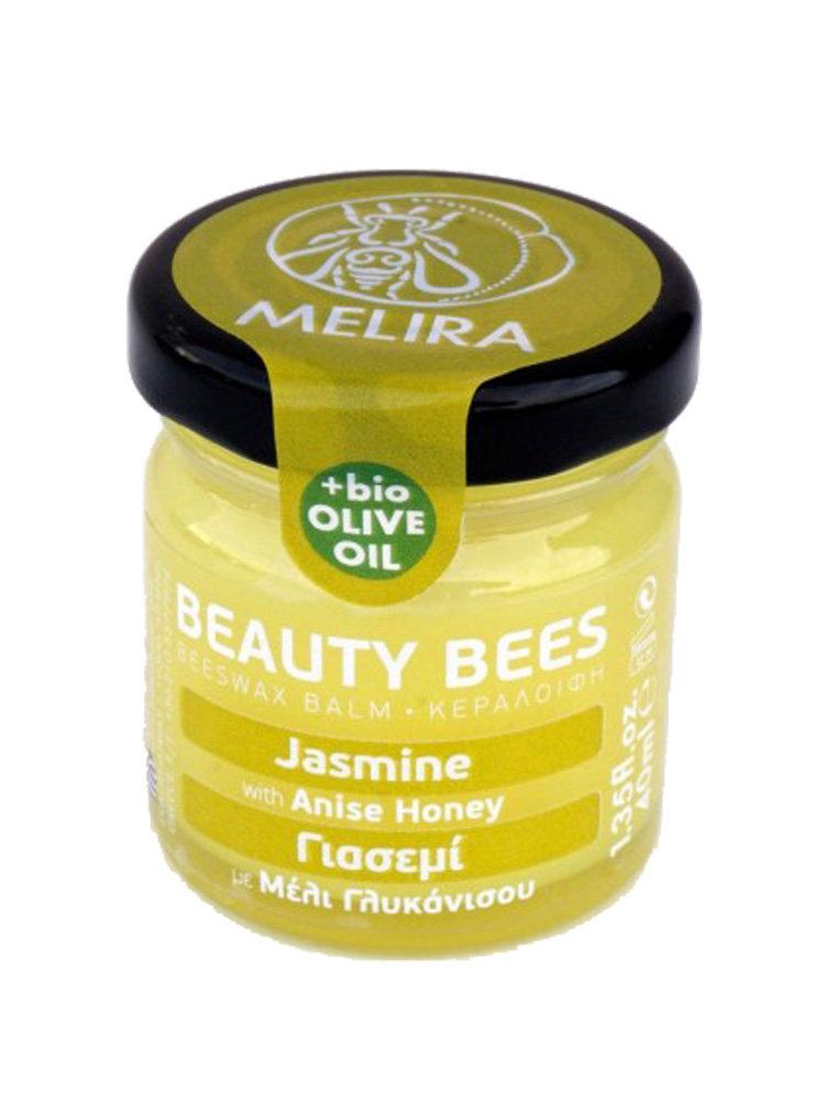 Κηραλοιφή με μέλι γλυκάνισου και γιασεμί by Melira