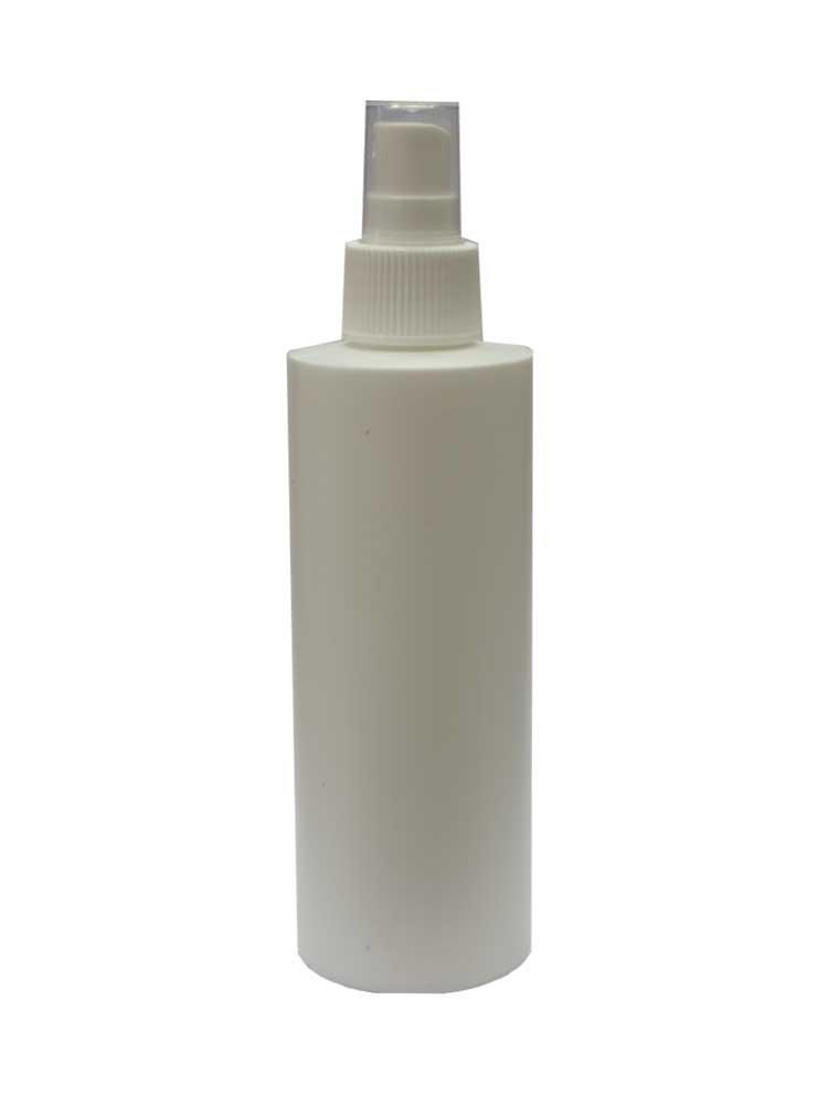 Μπουκάλι 200ml με σπρέι (λευκό)