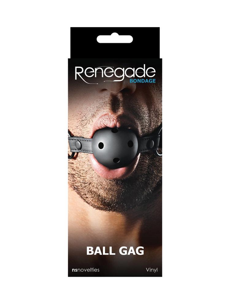 Renegade Black Ball Gag