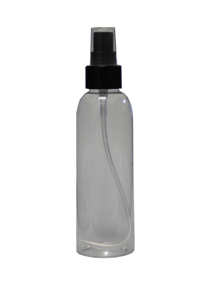 Μπουκάλι 100ml με Σπρέι (διάφανο)