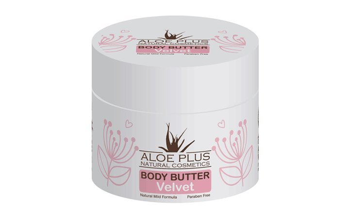 Body butter με Αλόη και άρωμα Velvet Aloe Plus