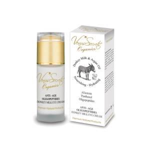 Αντιρυτιδική Κρέμα ματιών γάλα γαϊδάρας & έλαιο αργκάν by Venus Secrets Organics