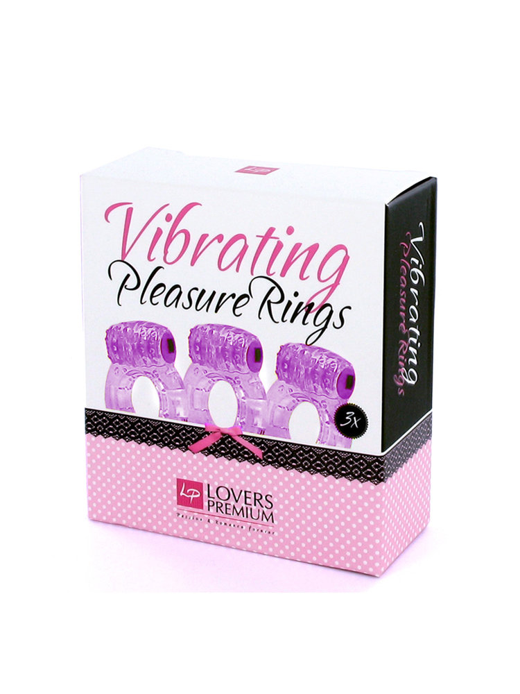 Vibrating Pleasure Rings by Lovers Premium