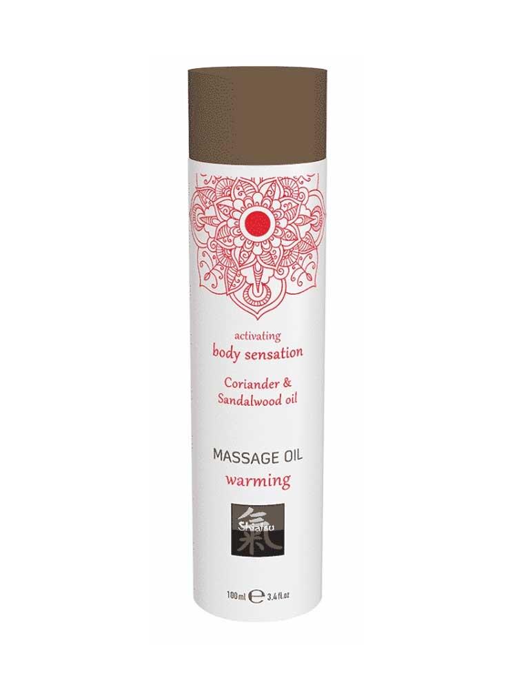 Warming - Coriander & Sandalwood Massage Oil 100ml by Shiatsu