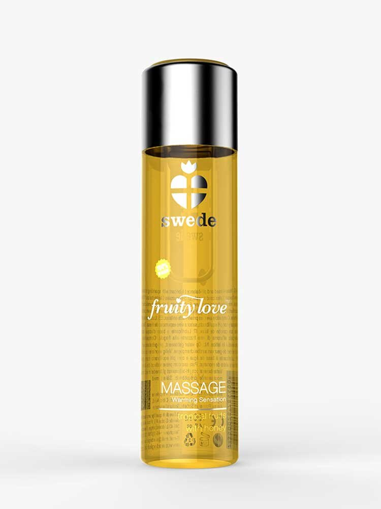 Tropical Fruits with Honey 60ml Fruity Love Massage Oils by Swede