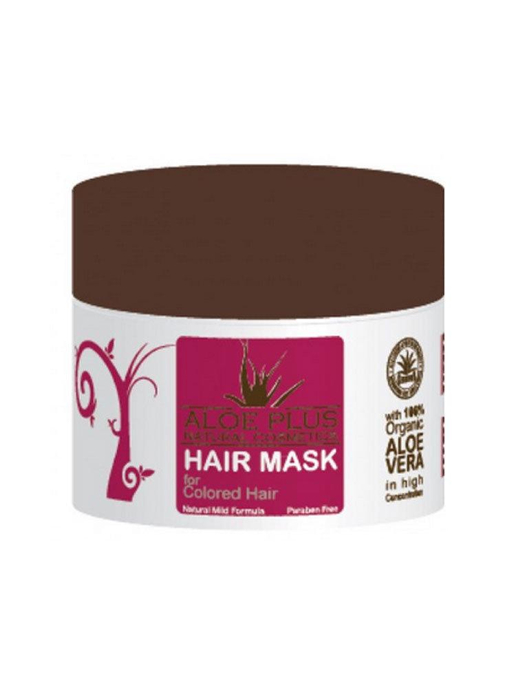 Μάσκα για βαμμένα μαλλιά Aloe Plus