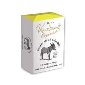 Σαπούνι με γάλα γαϊδάρας και καλέντουλα από Venus Secrets Organics