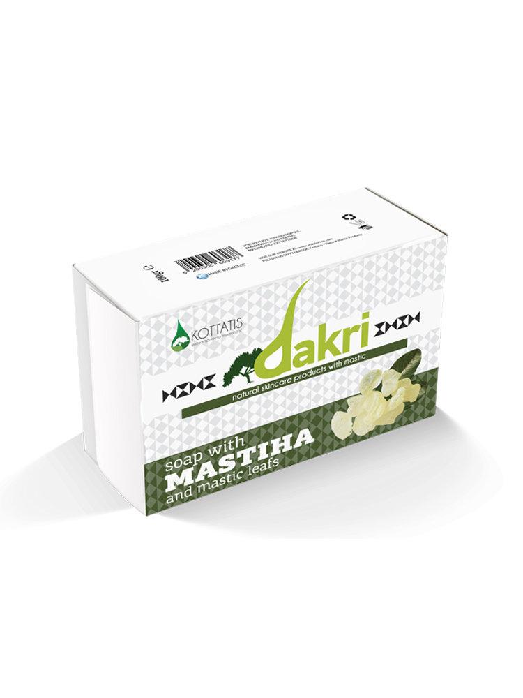 Σαπούνι με μαστίχα και φύλλα μαστίχας από Dakri