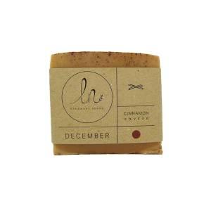 Δεκέμβριος - Σαπούνι με Κανέλα 100gr από LN Handmade Soaps