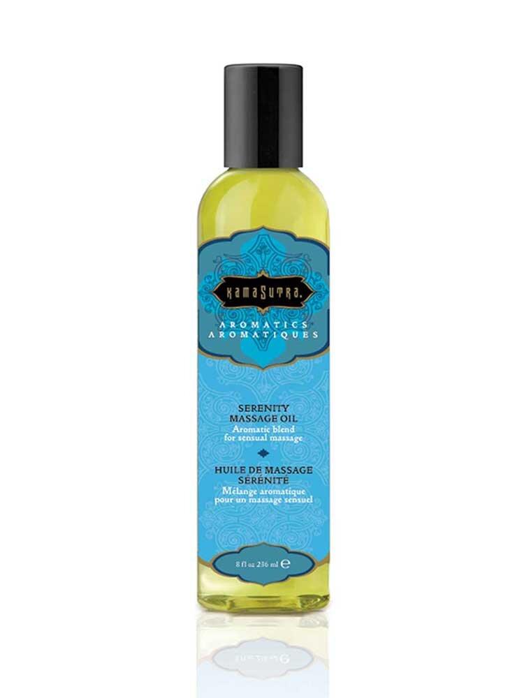 Serenity Aromatics Massage Oil 236ml by Kamasutra
