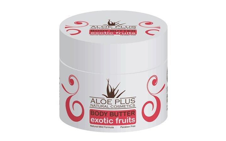 Body butter με Αλόη και Εξωτικά Φρούτα Aloe Plus