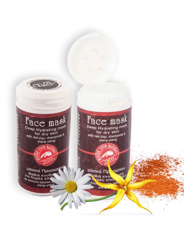Μάσκα Προσώπου Red Clay Bioaroma