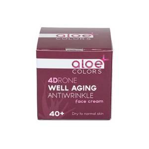 Well Αging Αντιρυτιδική Κρέμα προσώπου 40+  by Aloe Plus
