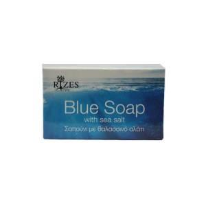 Blue Soap με Θαλασσινό Αλάτι by Rizes Crete 100gr