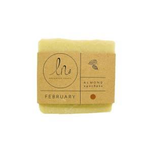 Φεβρουάριος - Σαπούνι Αμυγδάλου 100gr από LN Handmade Soaps