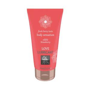 Love Lubricant Strawberry 75ml by Shiatsu