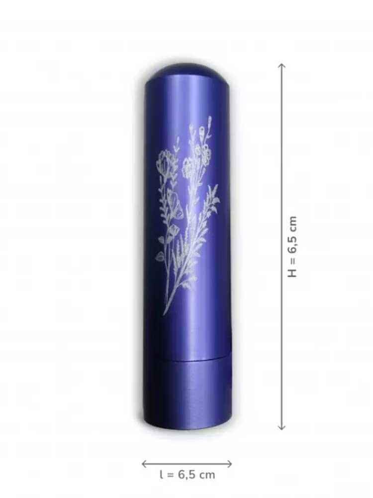 Inalia Εισπνευστήρας Αιθέριου Ελαίου Μωβ - Essential oil Inhaler Innobiz