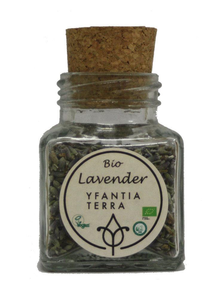 Λεβάντα Οργανική Άνθη Yfantia Terra