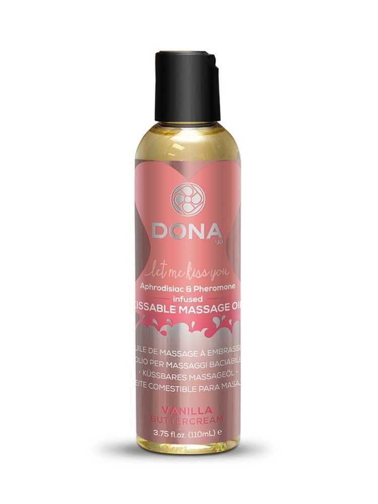 Vanilla Buttercream Kissable Massage Oil 110ml by Dona