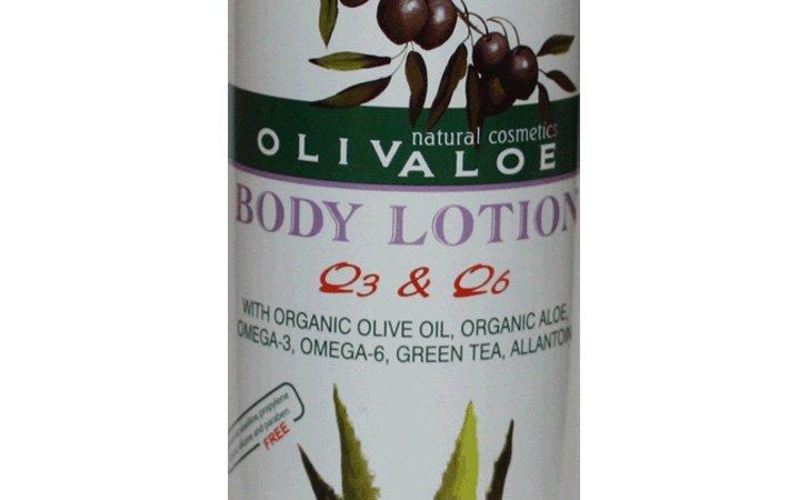Body Lotion με Ω3 Ω6 OlivAloe