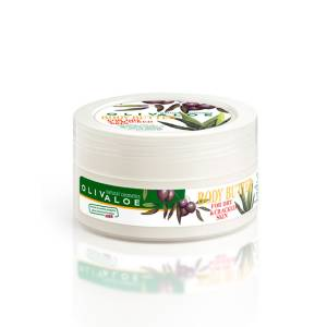 Body Butter for Dry and Cracked Skin OlivAloe