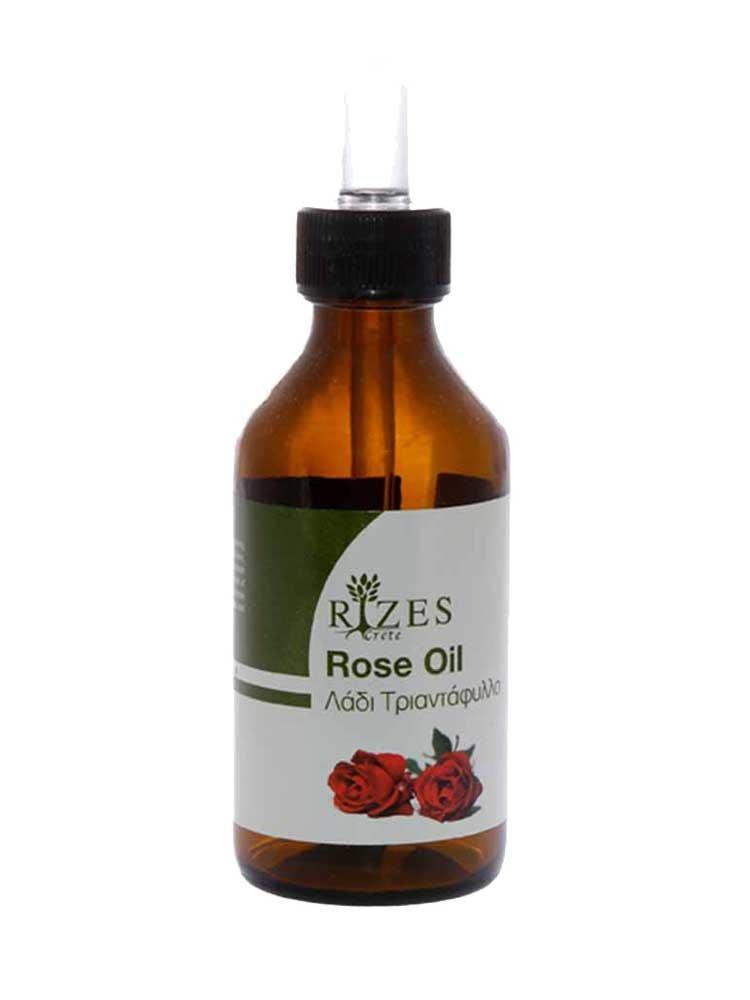 Άγριο Τριαντάφυλλο Έλαιο με Ροδόξυλο από την Rizes Crete